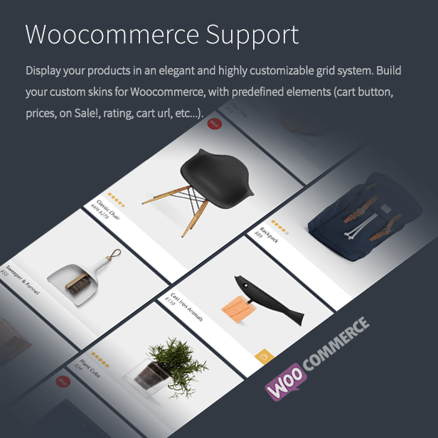 the grid - Woocommerce