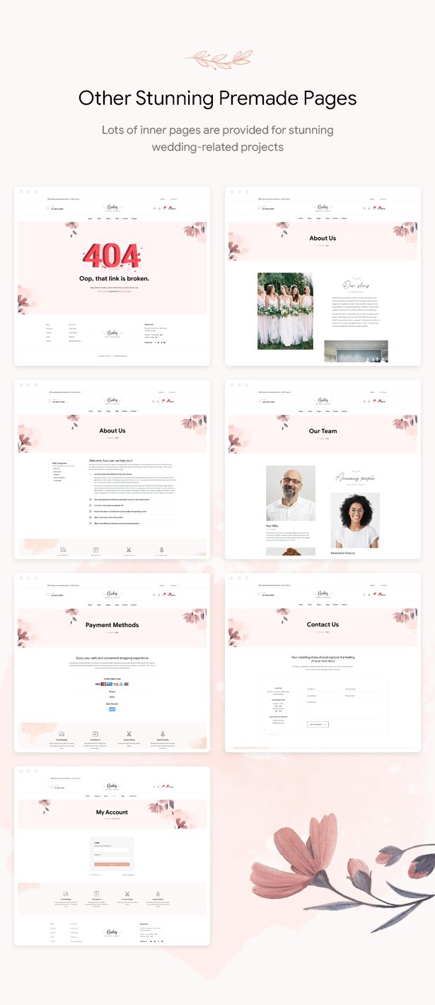 Bridey - Bridal Store WooCommerce WordPress Theme
