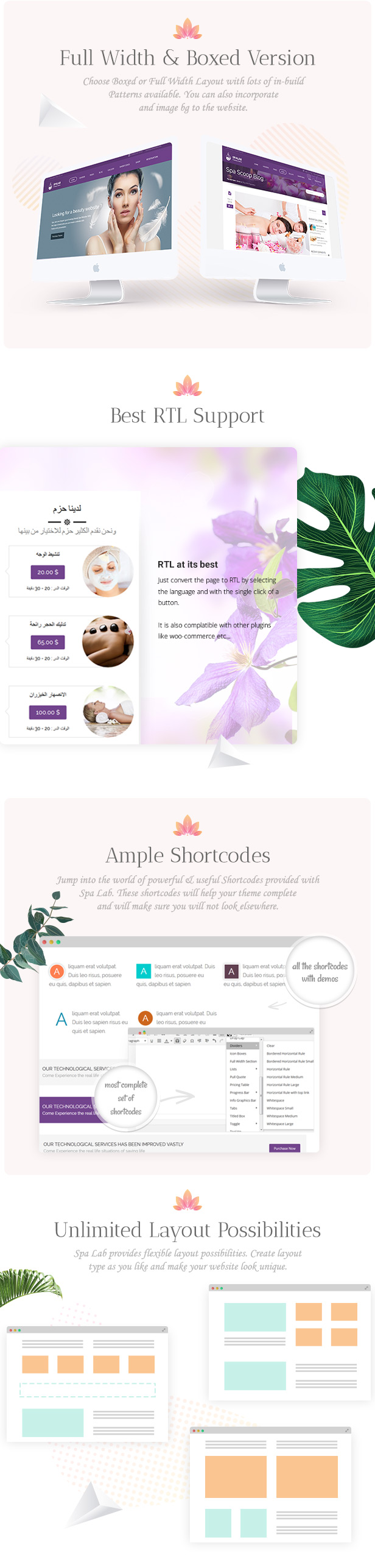 Spa Lab | Beauty Salon, Spa WordPress Theme - 7