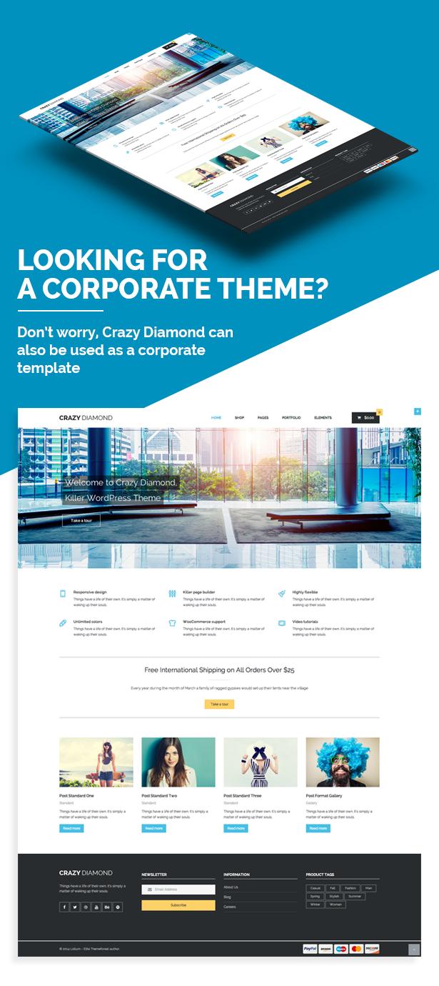 Crazy Diamond - Ecommerce & Corporate Theme - 33