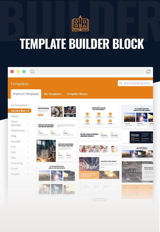 IndustCO WordPress Theme