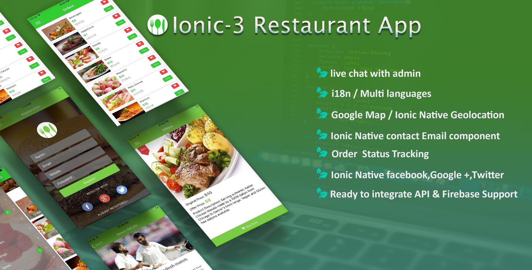 React Native Restaurant Mobile App - 5