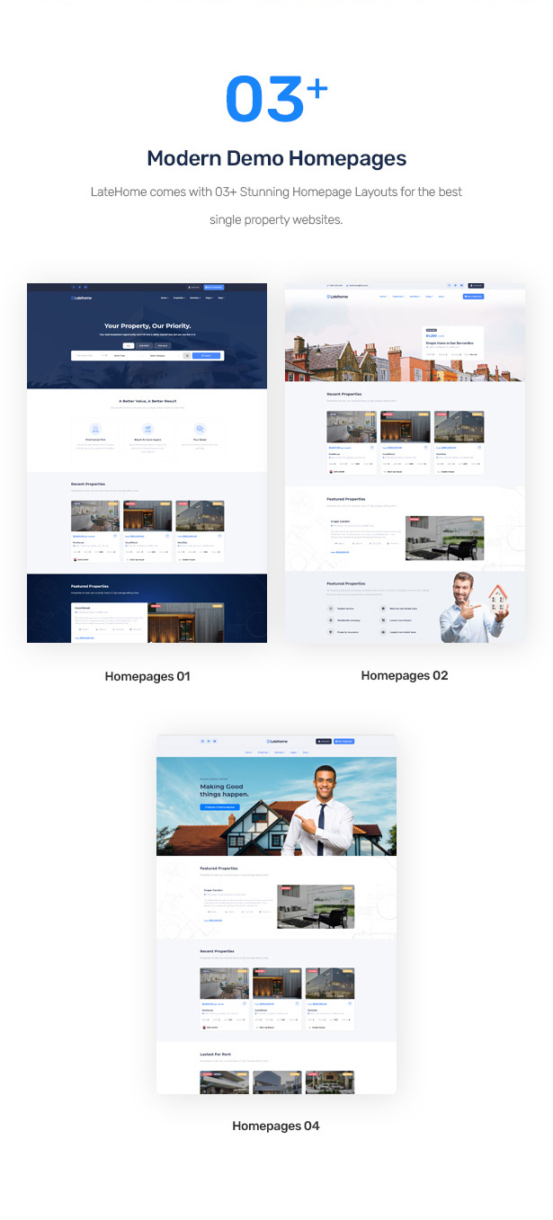 LateHome - Real Estate WordPress Theme 3
