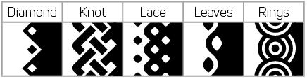 Seam pattern 2