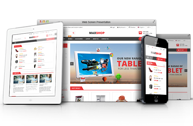 SW Maxshop - Fully Responsive