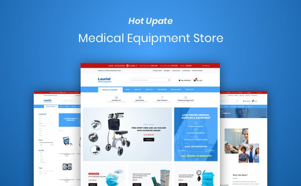 Lauriel – Multipurpose WooCommerce Theme - 2