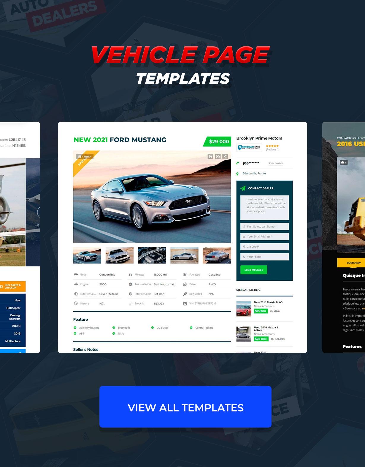 Motors - Car Dealer, Rental & Listing WordPress theme - 17