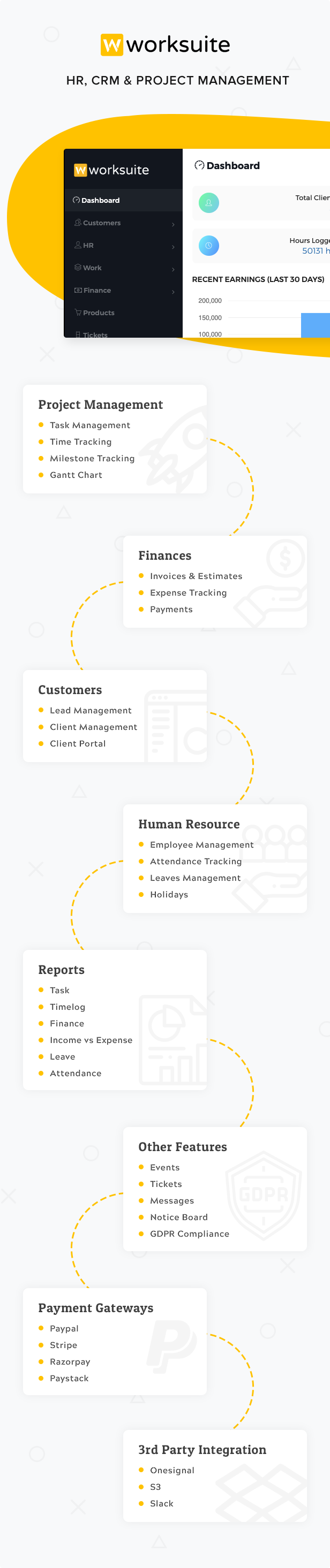 Worksuite Saas - Project Management System - 4