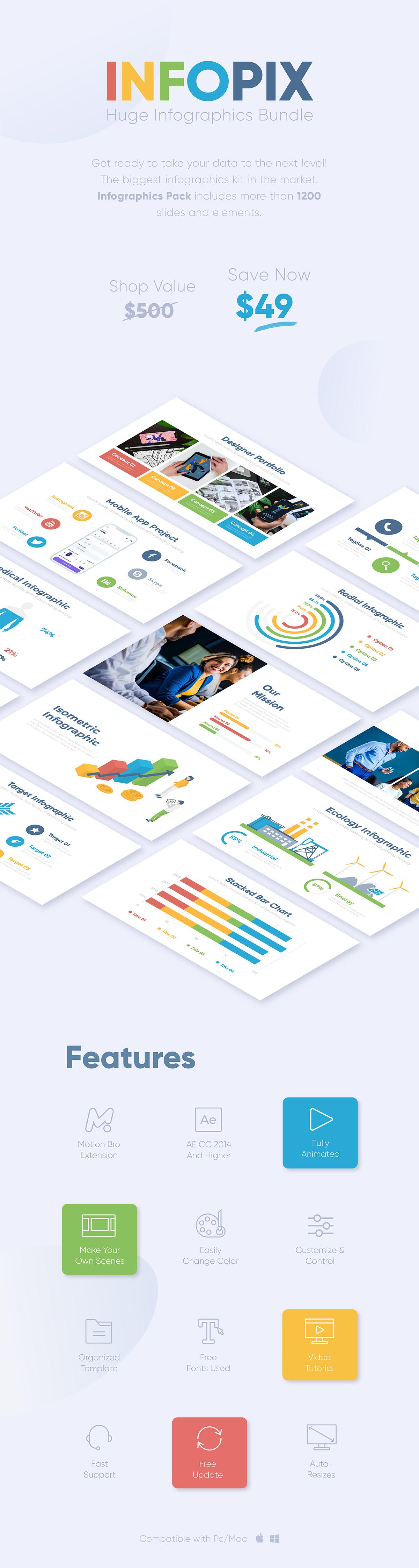 Infopix - Infographics Pack - 2