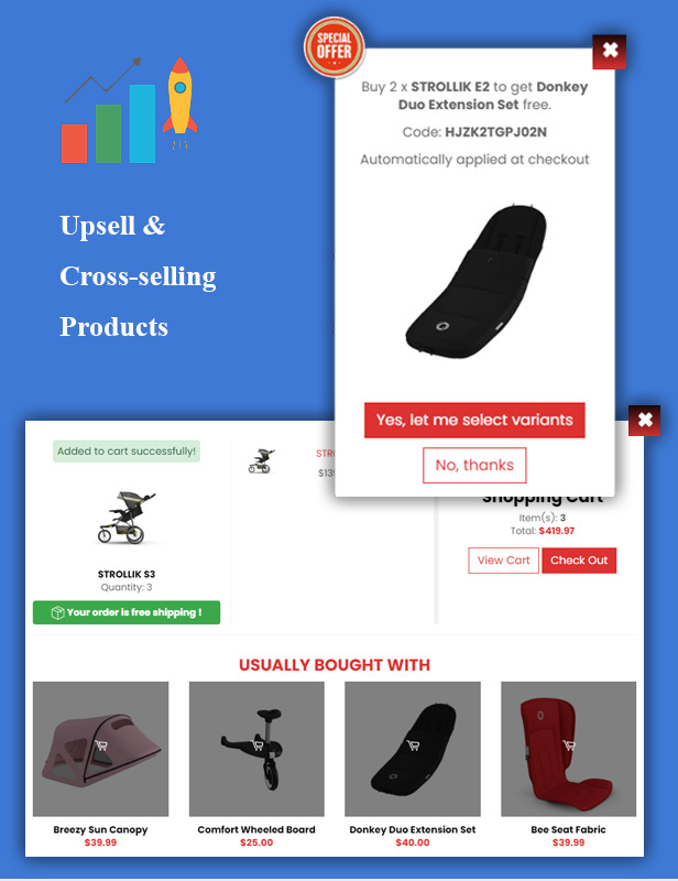 Ap Strollik - Flexible Single Product E-commerce Shopify Theme - 1