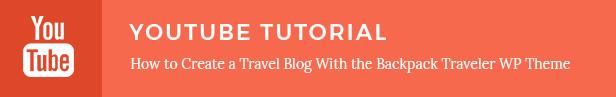 Backpack Traveler - Modern Blog - 1
