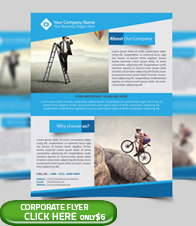 Corporate Business Flyer Template - 5
