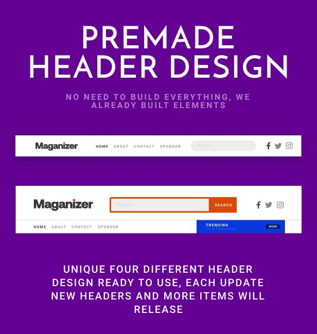 Maganizer - Modern Magazine WordPress Theme - 6