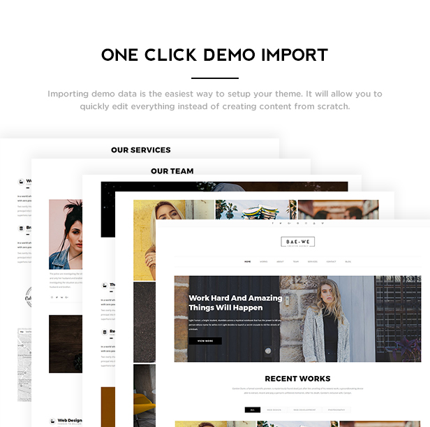 Baowe - Responsive One/Multi Page Portfolio WordPress Theme - 4