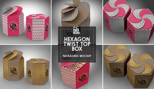 TwistHexagon Box