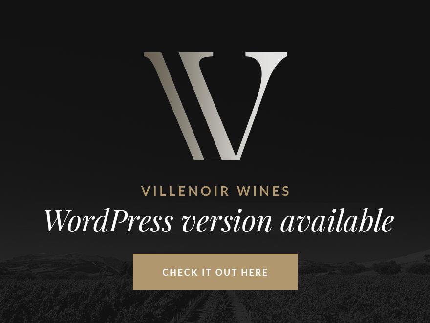 Villenoir - Vineyard, Winery & Wine Shop