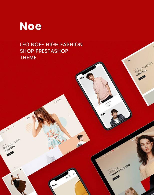 Leo Noe High Fashion Prestashop Theme