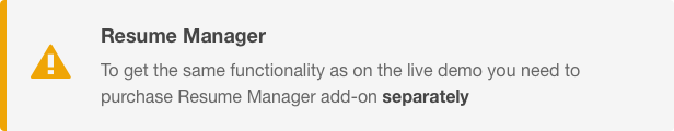 Resume Manager - Pet Sitter WordPress Theme Responsive
