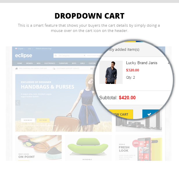 online Digital store theme