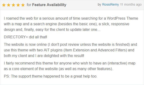Directory+ - WordPress Directory Theme - 7