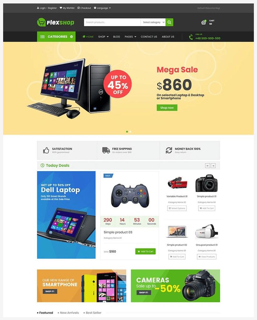 VG Flexshop - Multipurpose Responsive WooCommerce Theme - 7