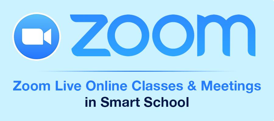 Smart School Zoom Live Class addon