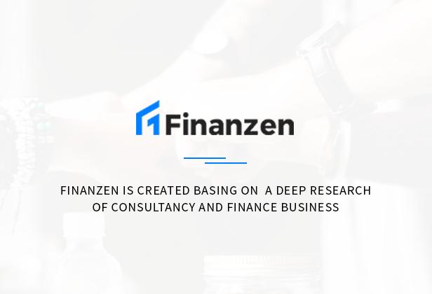 Finanzen - Consultant, Finance & Business WordPress Theme - 1