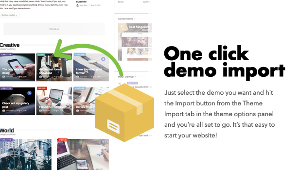 Diginex has one click demo install