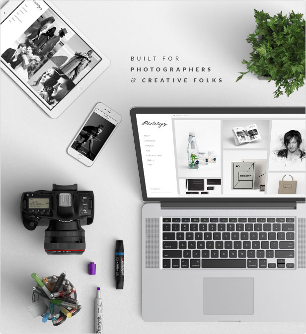 Photology - Clean Photography Gallery Themes - 2