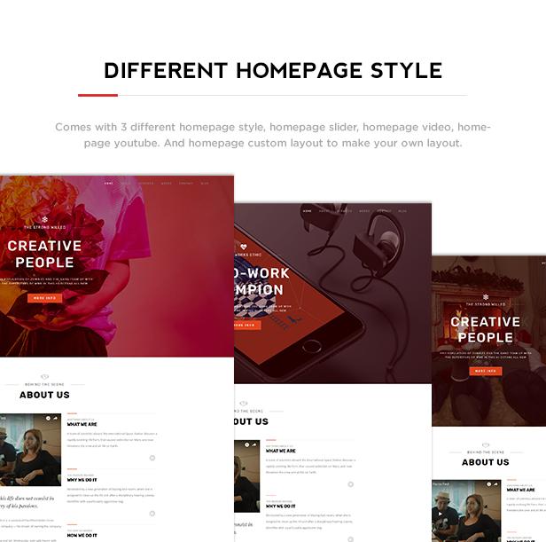 Benten - Responsive One Page Portfolio Theme - 1