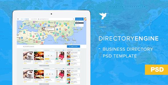 DirectoryEngine PSD Template