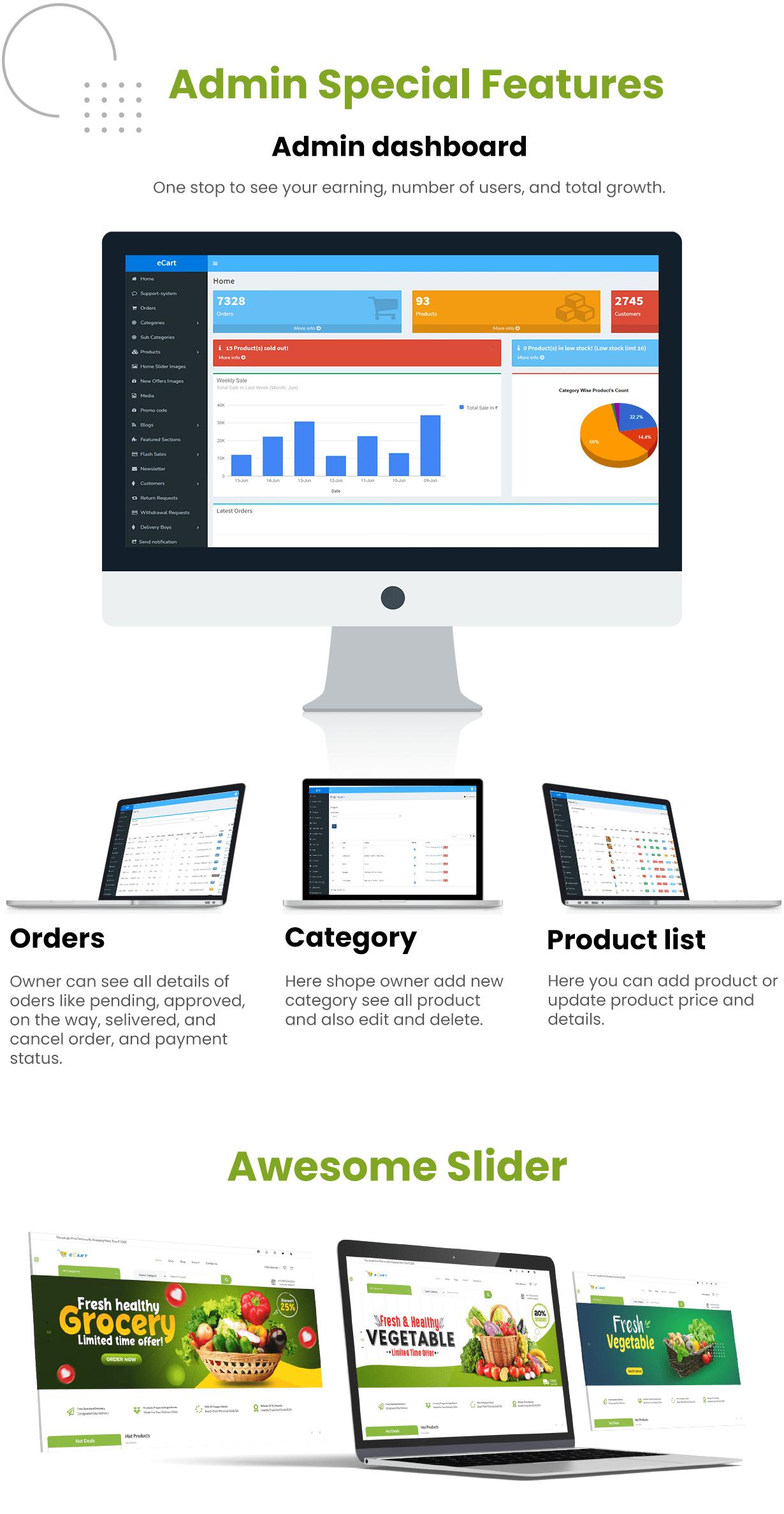eCart Web - Ecommerce / Store Full Website - 8