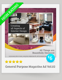 General Purpose Magazine Ad Template