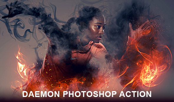 Daemon Photoshop action