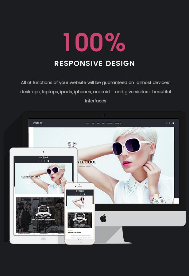 Oxelar - Fashion Responsive WordPress Theme 28