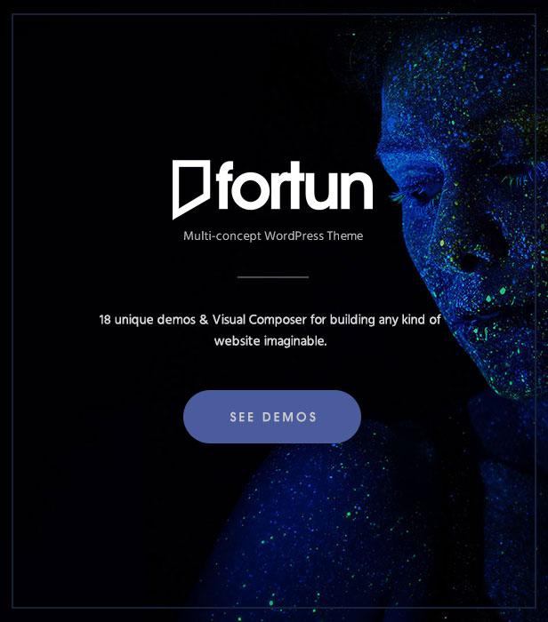 Fortun | Multi-Concept WordPress Theme - 3
