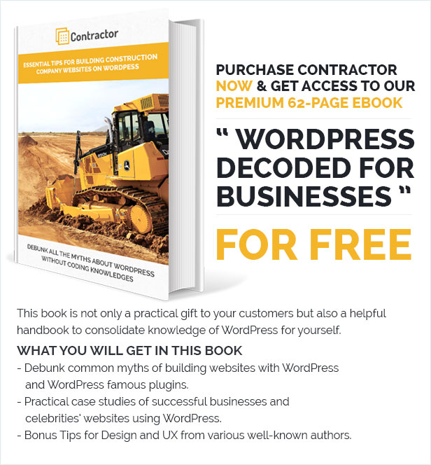 Contractor – Construction, Building Company Theme - 5