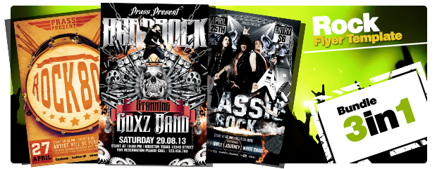 Music World Tour Flyer Template - 1