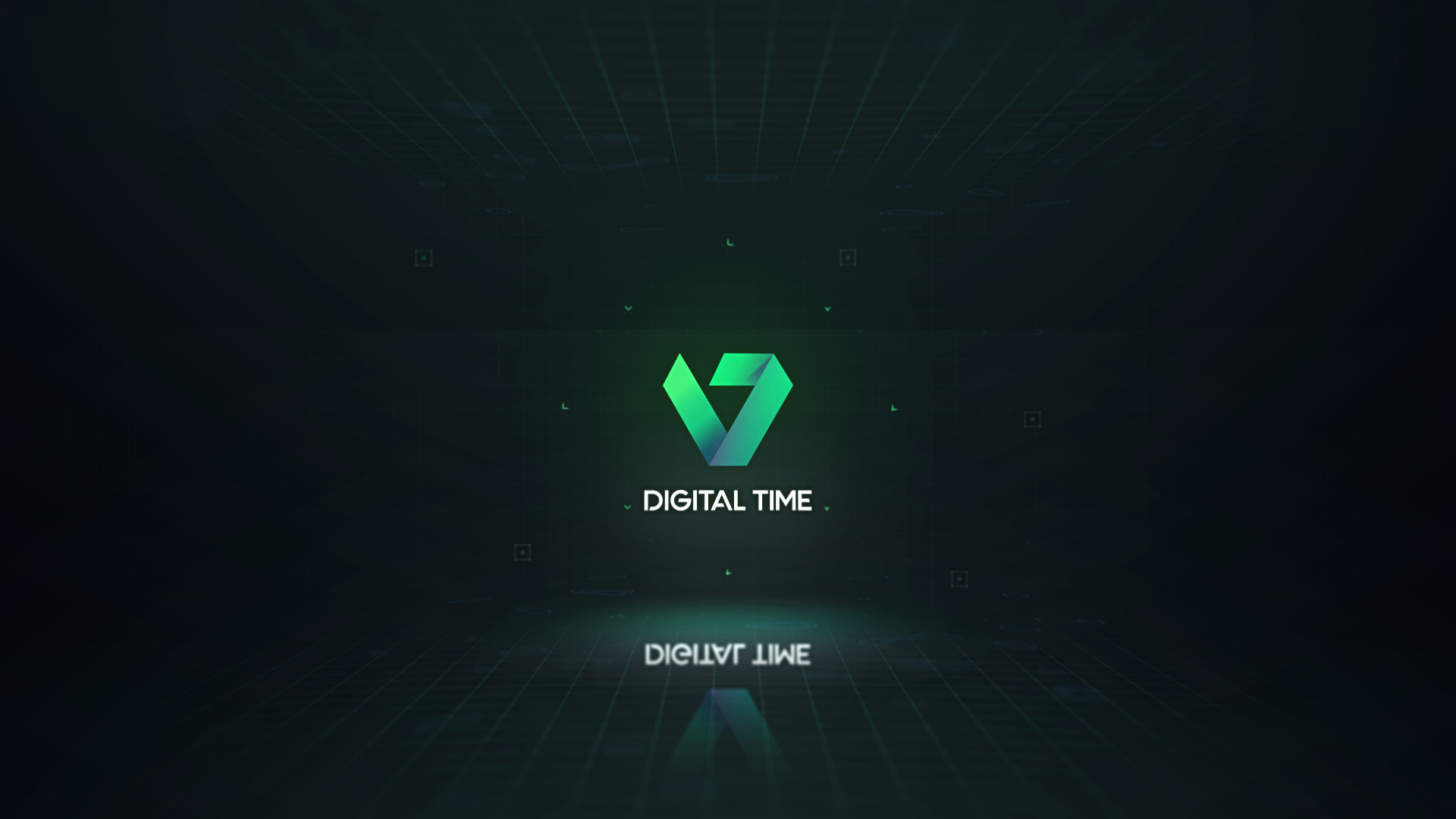 Digital Countdown Logo Intro - 4