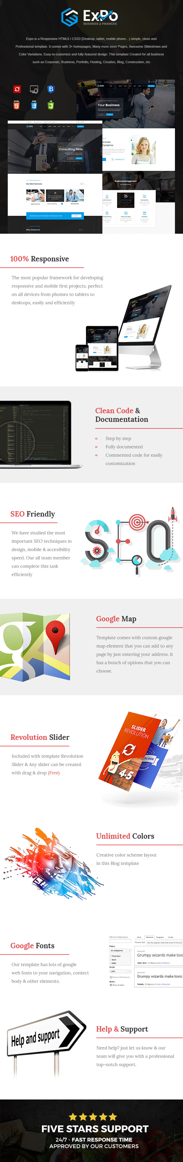 Expo - Finance, Business & Consulting HTML Template - 2