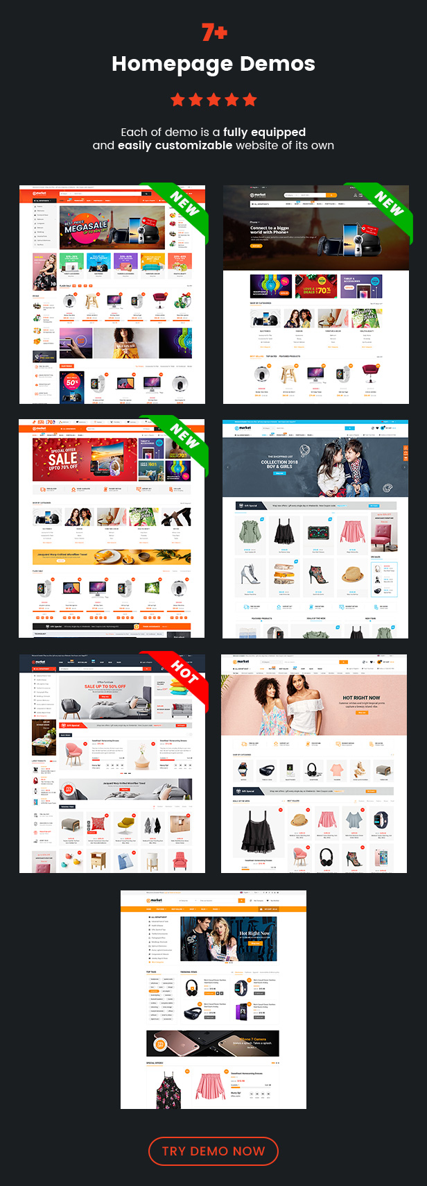 SW eMarket - WooCommerce Theme