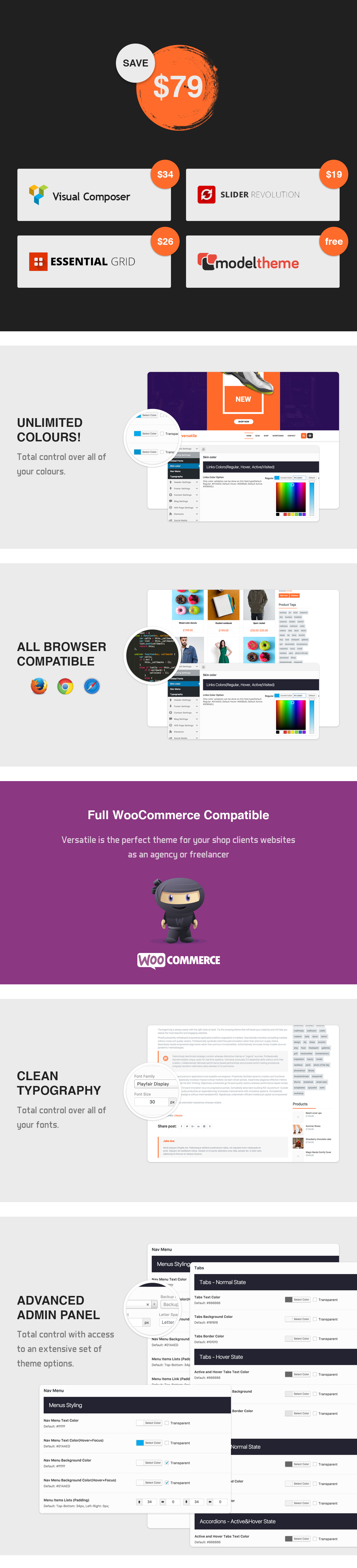 Versatile - Multipurpose WooCommerce WordPress Theme - 7
