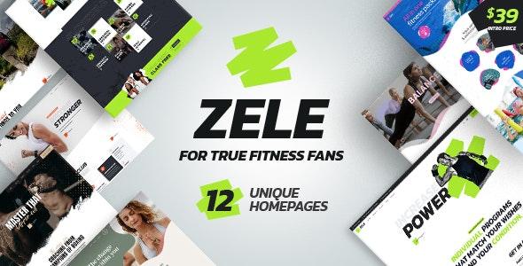 Zele - Fitness Gym & Sports WordPress Theme - Health & Beauty Retail