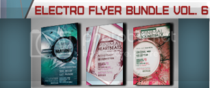 Electro Music Flyer Bundle Vol. 39 - 7