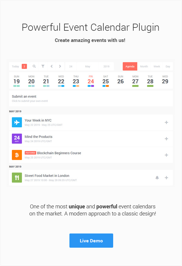 Stachethemes Event Calendar - WordPress Events Calendar Plugin - 4