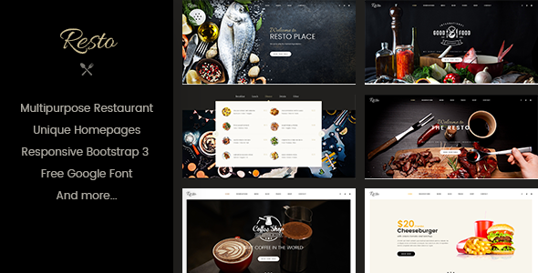 Resto - Multipurpose Restaurant & Cafe WordPress Theme - Restaurants & Cafes Entertainment