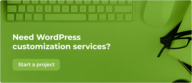Need some WordPress customization services?