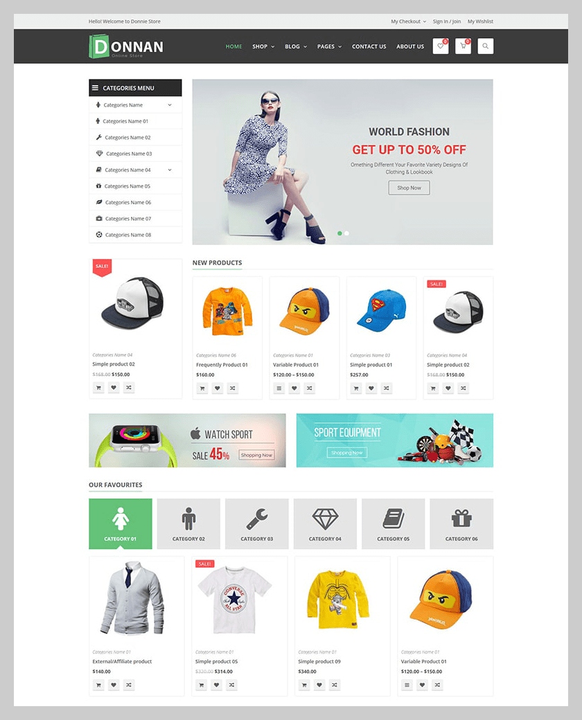 VG Donnan - Multipurpose Responsive WooCommerce Theme - 10