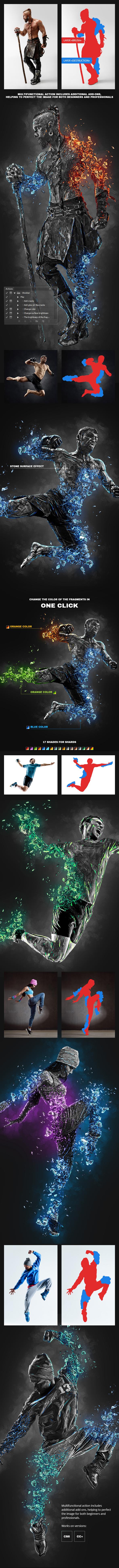 Obsidian Photoshop Action - 1