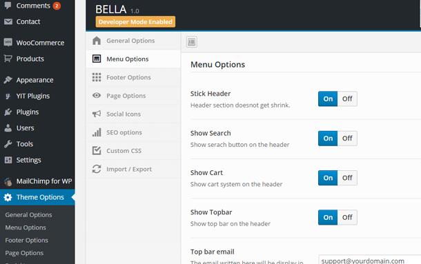 Bella - eCommerce Shop WordPress Theme - 9
